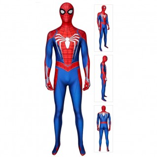 Spiderman Advanced Suit for PS4 Spider-Man Cosplay Costumes