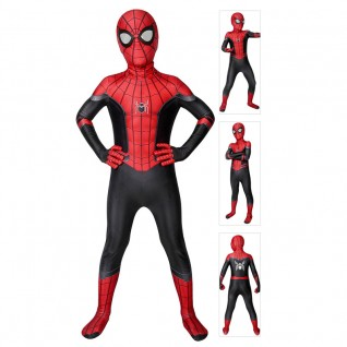 Kids SpiderMan Cosutme Far From Home Peter Parker Cosplay Suit