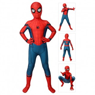 Kids Spiderman Suit Spider-Man Homecoming Cosplay Costume
