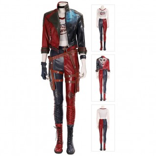 Harley Quinn Suit Suicide Squad Cosplay Costumes Full Set