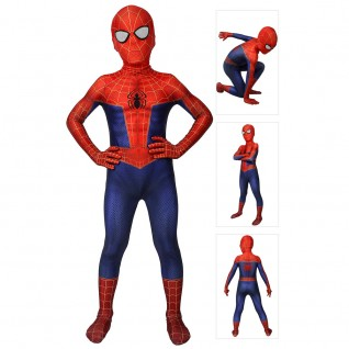 Spider Man Suit for Kids Spider-Man Into the Spider-Verse Cosplay Costume