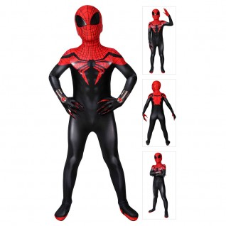 The Superior Spider-Man Suit for Kids Spiderman Cosplay Costume