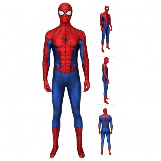 Classic Spider-Man Costume 3D Printing Spiderman Cosplay Suit