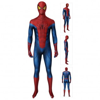 Spiderman Costume The Amazing Spider-Man Cosplay Jumpsuits